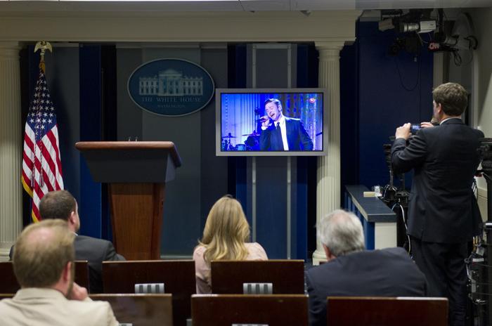 Мишель Обама провела музыкальный семинар перед концертом . Фото: SAUL LOEB/AFP/Getty Images