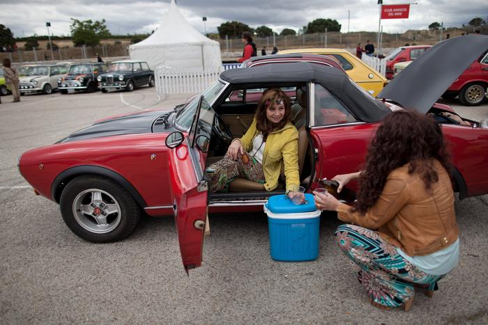 Ретро фестиваль Jarama Vintage представил классические автомобили в Мадриде. фото: Pablo Blazquez Dominguez/Getty Images
