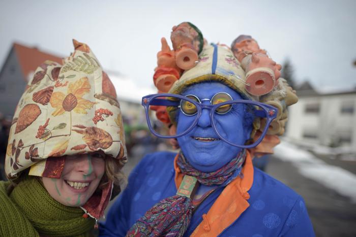 Карнавал в Германии. Фото: Thomas Lohnes/Getty Images