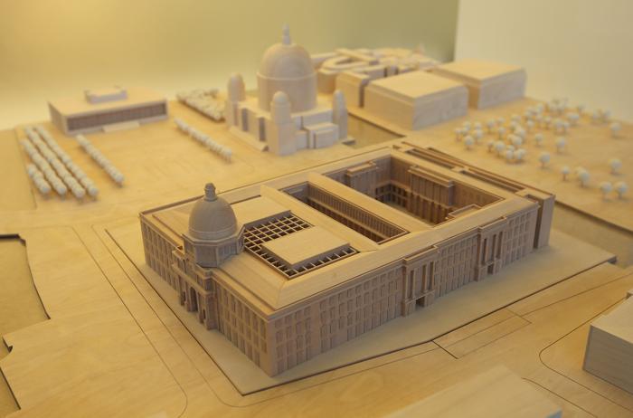 В Берлине воссоздают дворец. Фото: Sean Gallup/Getty Image