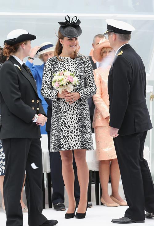 Герцогиня Кембриджская приняла участие в открытии лайнера «Принцесса». Фото: Chris Jackson/Getty Images