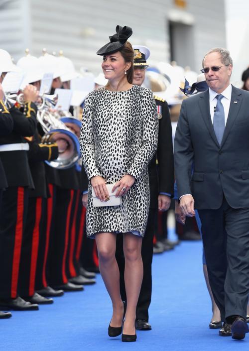 Герцогиня Кембриджская приняла участие в открытии лайнера «Принцесса». Фото: Chris Jackson - WPA Pool/Getty Images