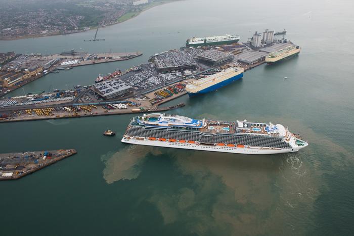 Круизный лайнер «Принцесса». Фото: Royal Princess & Princess Cruises via Getty Images