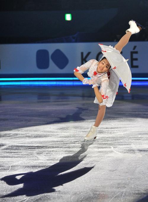Показательные выступления провели призёры Кубка мира в Токио. Фото: KAZUHIRO NOGI/AFP/Getty Images