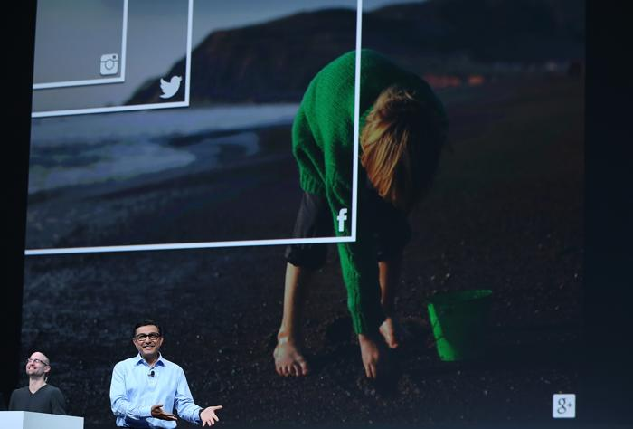 Конференция разработчиков Google I/O открылась в Сан-Франциско. Фото: Justin Sullivan/Getty Images