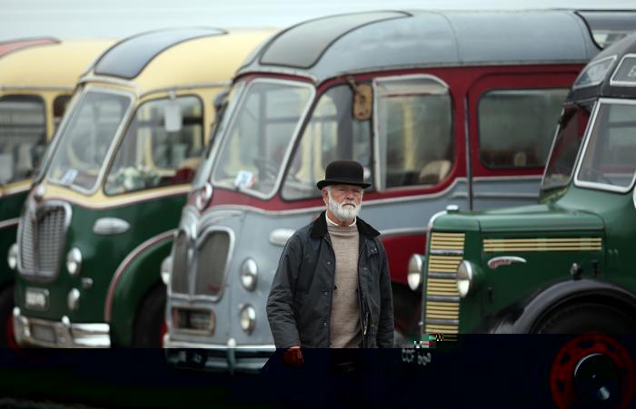 Около 100 экземпляров крупных и миниатюрных паровозов со всей страны представили 16 августа 2013 года на 58-м ежегодном шоу Cornish Steam And Country Fair в английском городе Пенрин. Мероприятие является одним из самых ярких событий в Корнуолле. Фото: Matt Cardy/Getty Images