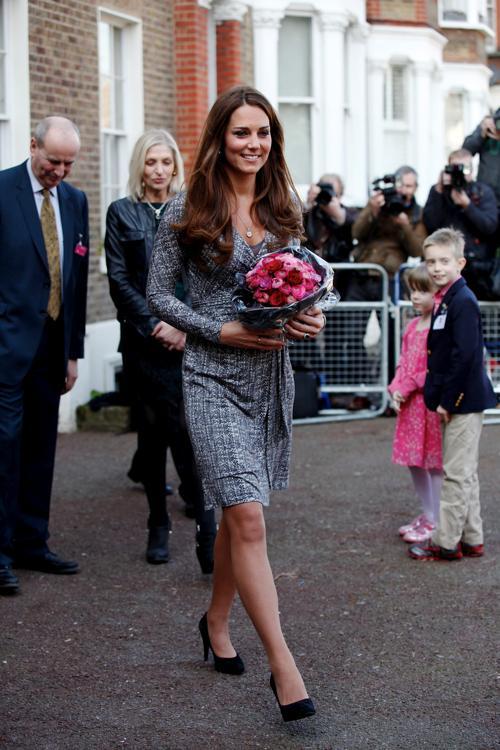 Герцогиня Кембриджская посетила реабилитационный центр. Фото: Danny Martindale/Getty Images