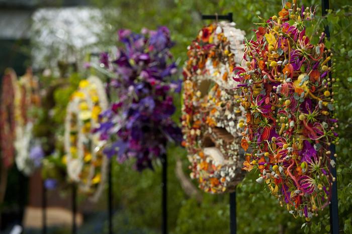 Юбилейная королевская выставка цветов в Челси. Фото: Ben A. Pruchnie/Getty Images