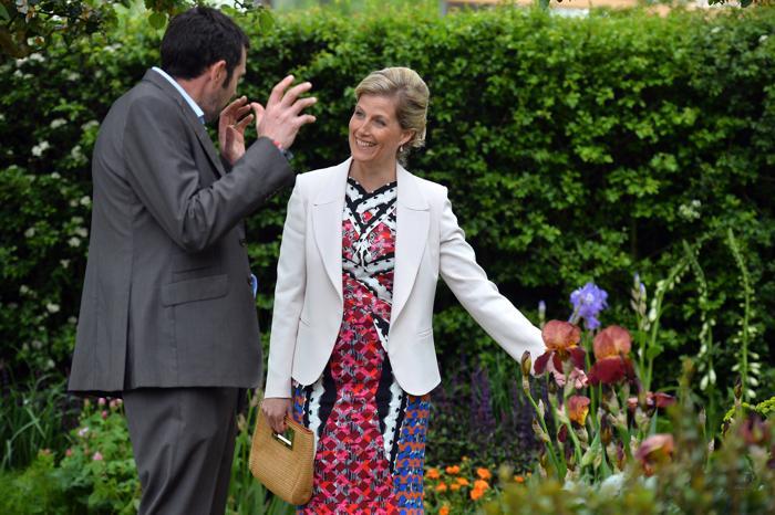 Графиня Уэссекса Софи на юбилейной королевской выставке цветов в Челси. Фото: Geoff Pugh - WPA Pool/Getty Images