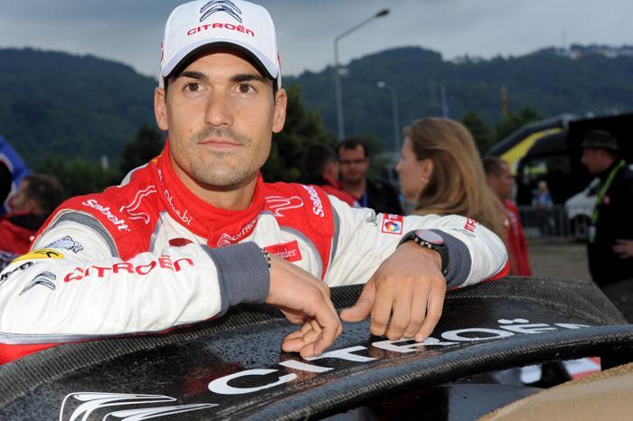 Испанец Даниэль Сордо взял лидерство на третий день германского этапа чемпионата мира по ралли, 24 августа 2013 года. Фото: Massimo Bettiol/Getty Images