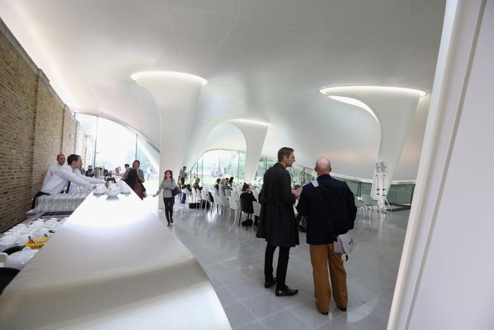 Открытие второго пространства галереи «Серпантин» (Serpentine Sackler Gallery) состоится 28 сентября 2013 года в районе Кенсингтонского сада Лондона. Фото: Oli Scarff/Getty Images