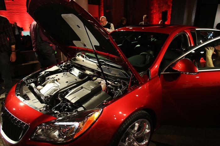 Buick представил Regal 2014. Фото: Spencer Platt/Getty Images