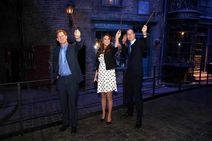 Герцоги Кембриджские посетили студию Гарри Поттера. Фото: Chris Jackson/AFP/Getty Images