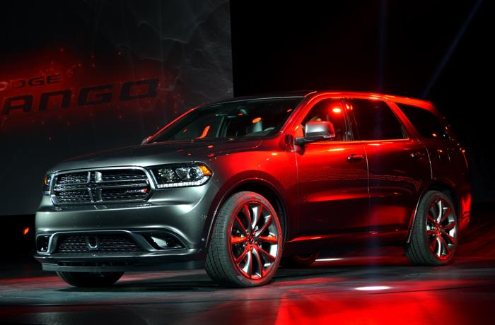 Премьера Dodge Durango RT 2014 на авто-шоу в Нью-Йорке. Фото: STAN HONDA/AFP/Getty Images