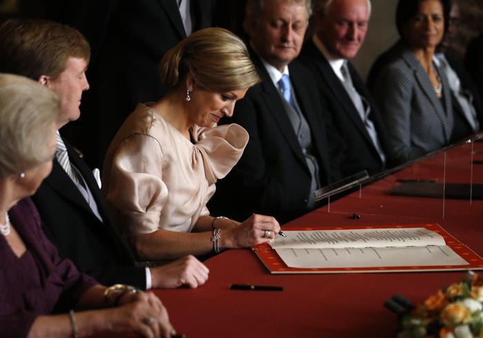 Официальная церемония передачи короны состоялась в Нидерландах. Фото:  Jerry Lampen - Pool/Getty Images