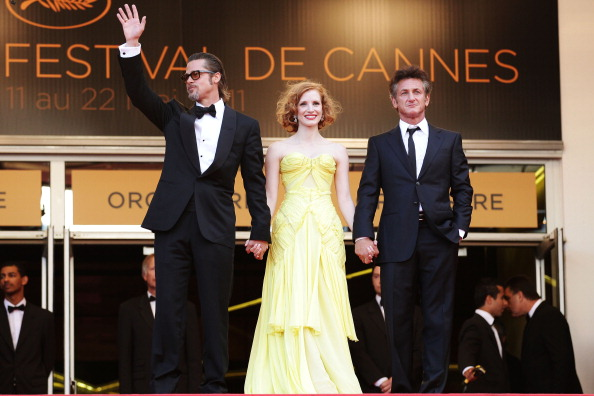 Перед премьерой фильма Терренса Малика Древо жизни, 16 мая 2011, Канны, Франция. Фото: Francois Durand/Getty Images
