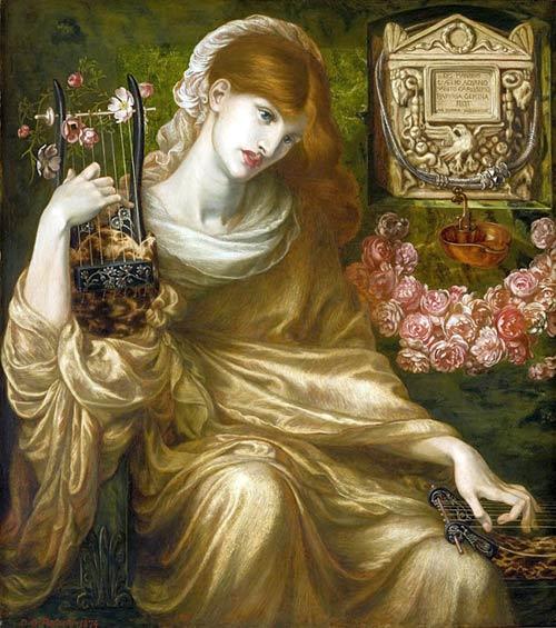 «Римлянка - вдова», Данте Габриэль Россетти, 1874г., масло, холст, 103.7 x 91.2 см. (Фото предоставлено Museo de Arte de Ponce, Puerto Rico, The Luis A. Ferrй Foundation, Inc
