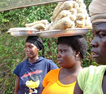 На юге Того живут многочисленные племена: кватчи, мина, фон, кпла. Фото предоставлено Валентином Ефремовым