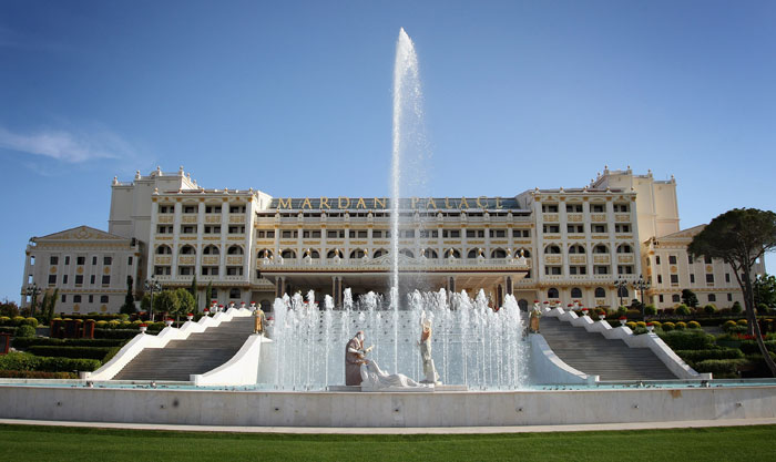 Отель Mardan Palace, Анталия, Турция. Фото: Chris Jackson/Getty Images