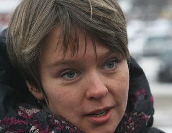 Лидер движения в защиту Химкинского леса Евгения Чирикова. Фото РИА Новости