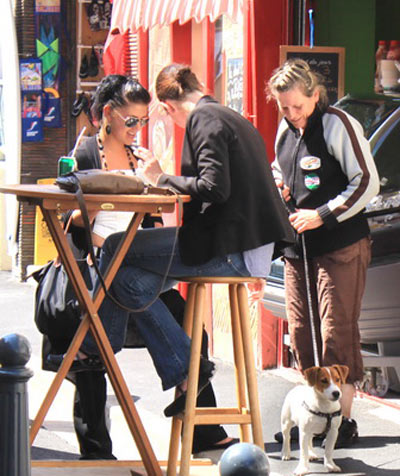 Этрета. На улицах города. Фото: Ирина Рудская/Великая Эпоха (The Epoch Times)