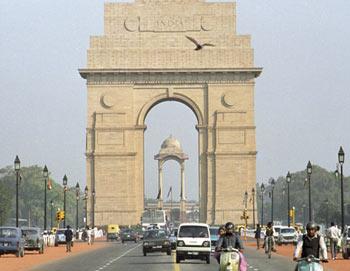 Монумент Ворота Индии в Нью-Дели. Фото РИА Новости