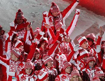Российская делегация в Инсбруке. Фото РИА Новости