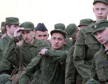 Призывники. Фото РИА Новости