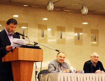 Ходорковские чтения в Москве. Фото: Ульяна Ким/Великая Эпоха (The Epoch Times)