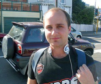 Веллингтон, Новая Зеландия Айдан Стронак, 24 года, сотрудник финансовой корпорации