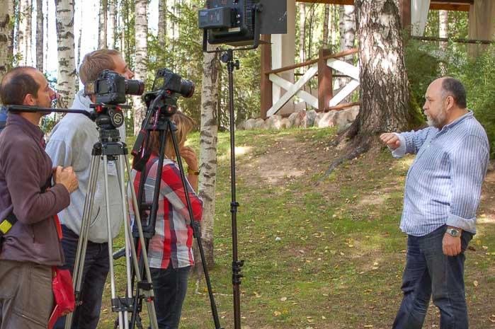 Интервью с Сергеем Максимишиным. Фото: Ирина Оширова/Великая Эпоха (The Epoch Times)