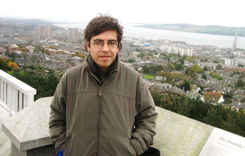 Поэт Бах Ахмедов. Фото со странички фейсбук поэта