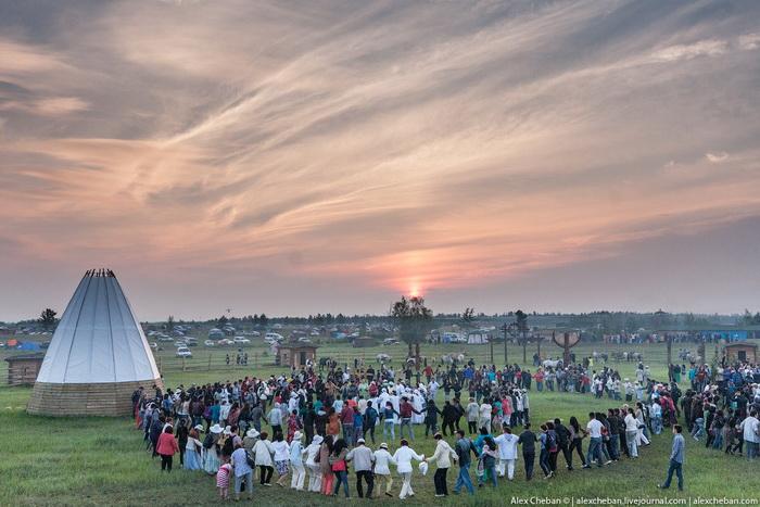 Встреча солнца, Якутия. Фото: Александр Чебан, предоставлено пресс-центром Саха-Экспо