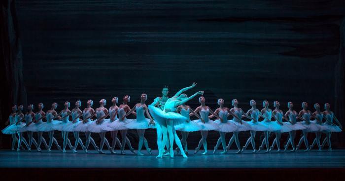 Артисты Большого театра Руслан Скворцов и Мария Александрова. Фото: Ian Gavan/Getty Images