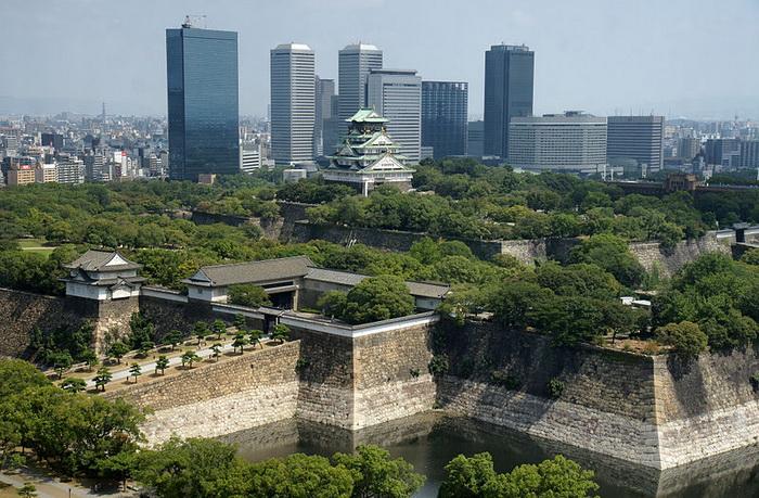 Осака — самый крупный город Японии. Фото: 663highland/commons.wikimedia.org