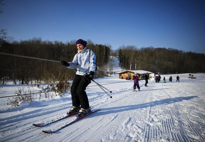 Сезон горнолыжного туризма в Швеции длится с ноября по май. Фото: JONATHAN NACKSTRAND/AFP/Getty Images