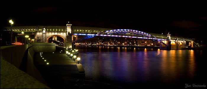 Пушкинский мост. Фото: Yuri Dmitrienko/Commons.wikimedia.org