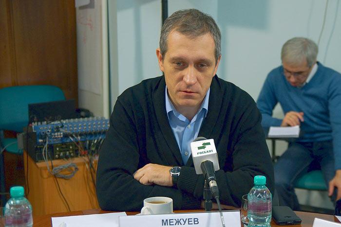 Борис Межуев, политолог, заместитель главного редактора газеты «Известия». Фото: Евгений Шабанов