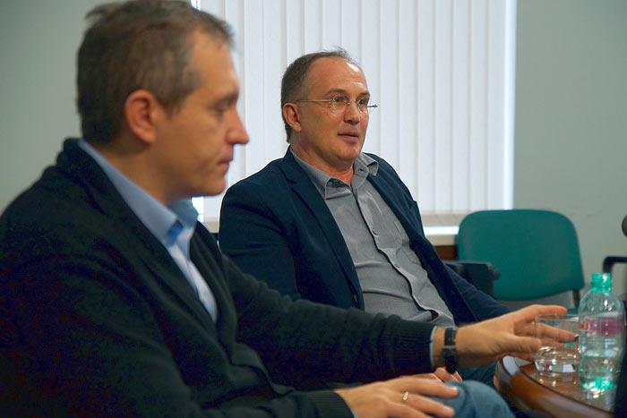 Константин Калачёв, руководитель политической экспертной группы. Фото:  Евгений Шабанов