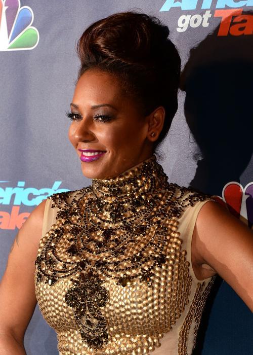 Мелани Браун. Модные причёски представили знаменитости в августе 2013 года. Фото: Andrew H. Walker/Getty Images
