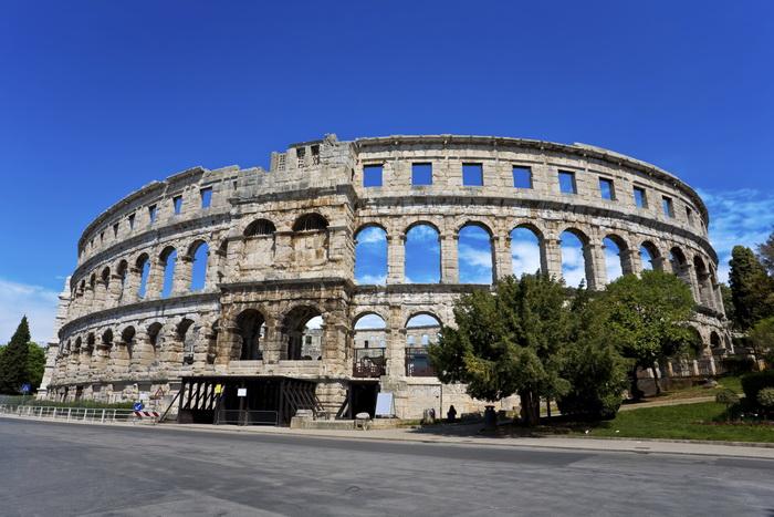Римский амфитеатр города Пула, Хорватия. Фото: WitR/Photos.com