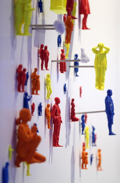 3D печатные объекты представили журналистам на выставке «3D: печать будущего» в музее науки в Лондоне 8 октября 2013 года, за день до её публичного открытия. Фото: Oli Scarff / Getty Images