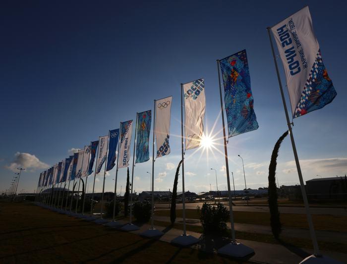 Виды Сочи в преддверии Олимпийских игр, 8 января 2014 года. Фото: Michael Heiman/Getty Images