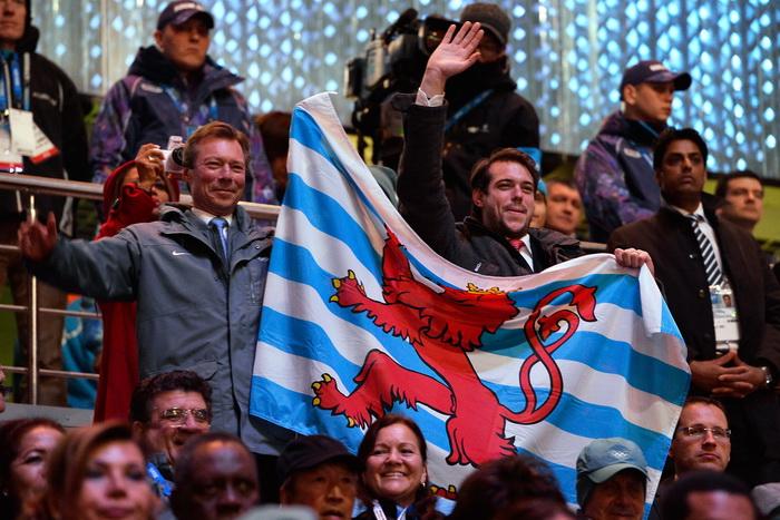 Герцог Анри и князь Феликс из Люксембурга в олимпийском Сочи на открытии зимних Игр 2014. Фото: Pascal Le Segretain/Getty Images