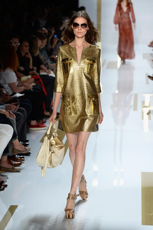 Модельер Диана фон Фюрстенберг представила новую коллекцию Diane Von Furstenberg весеннего сезона 2014 года на Неделе моды в Нью-Йорке 8 сентября 2013 года. Фото: Frazer Harrison/Getty Images for Mercedes-Benz Fashion Week Spring 2014