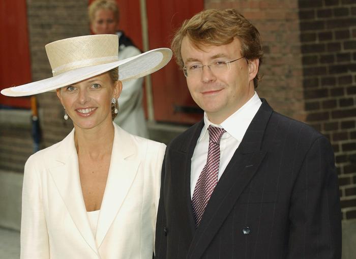 Принц Йохан Фризо и принцесса Мэйбл 12 июня 2004 года в Амстердаме Steve Finn/Getty Images