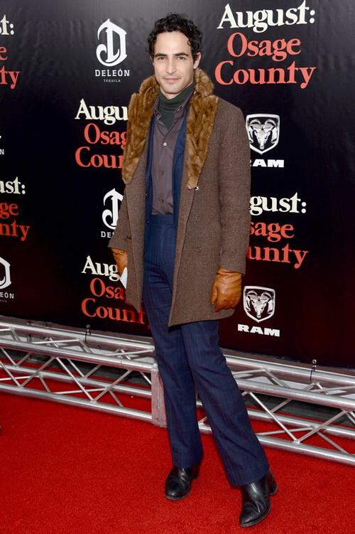 Зак Позен посетил нью-йоркскую премьеру фильма «Август: Графство Осейдж» 12 декабря. Фото: Dimitrios Kambouris/Getty Images for Chrysler