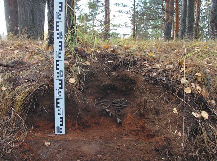 Найденные украшения на Богородском городище в Нижегородской области.  Фото: ngiamz.ru