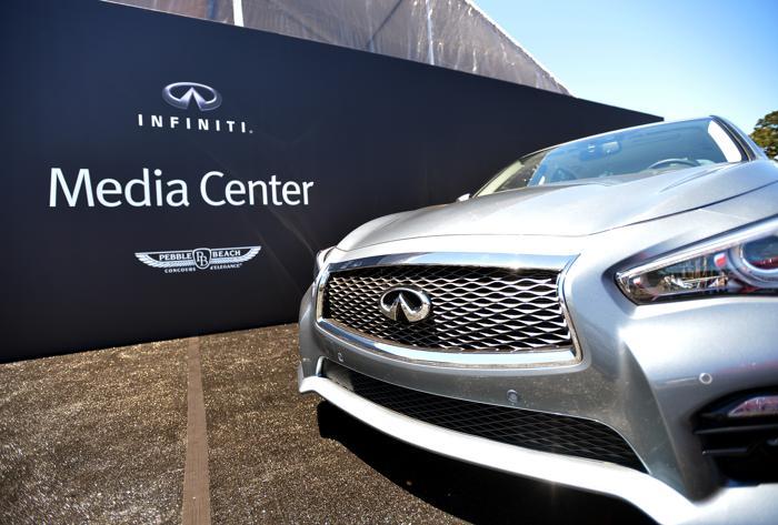Компания Infiniti открыла сегодня в Калифорнии  (США) выставку «Моменты вдохновения», на которой представит в течение 4-х дней редчайшие и самые востребованные автомобили марки. Фото: Charley Gallay/Getty Images for Hearst Magazines