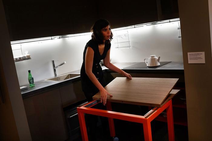 Микро-апартаменты по программе доступного жилья в деловом квартале Нью-Йорка Манхеттене, 16 августа 2013 года. Фото: Spencer Platt/Getty Images